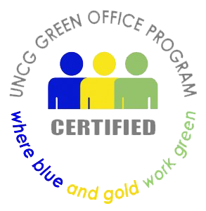 UNCG Green Office Program Certification